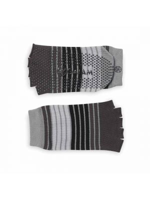 Gaiam Toeless Yoga Socks