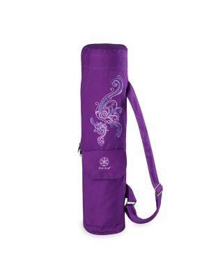 Gaiam Deep Plum Surf Yoga Mat Bag