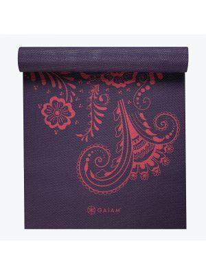Gaiam Aubergine Swirl Premium Yoga Mat