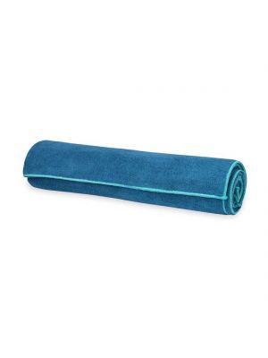 Gaiam Stay-Put Lake Yoga Towel