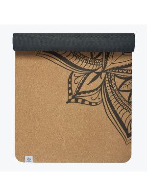 Gaiam Printed Cork Yoga Mat