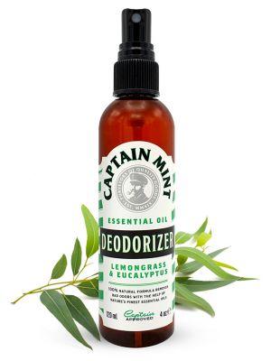 Captain Mint Essential Oil Deodorizer valymo priemonė - eukalipto ir citrinžolės