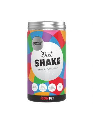 Iconfit Diet Shake dietiniai kokteiliai - Braškė 715g