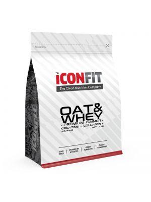 Iconfit OAT & WHEY Progainer 1,4kg Šokoladas