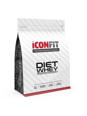 Iconfit Diet WHEY baltymai - Braškė 1kg