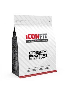 Iconfit Crispy Protein Breakfast 500g 10 porcijų - Kokosų-aviečių - natūralus