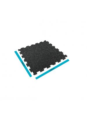 Livepro Black Rubber Flooring