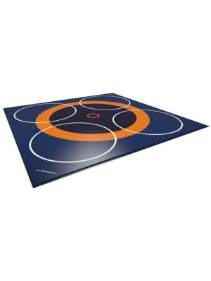 Dojo 3+4 zone wrestling mat cover