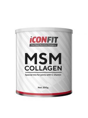 Iconfit MSM Collagen + Vitamin C 800g Spanguolė