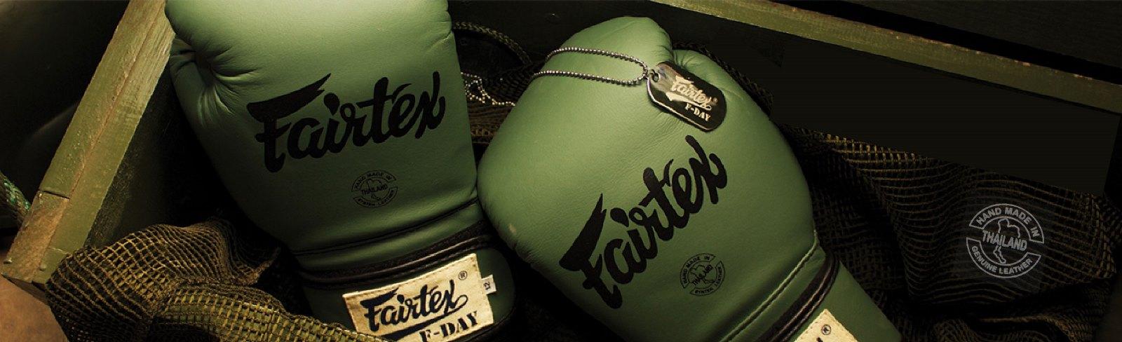 Budopunkt Fairtex Muay Thai equipment